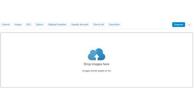 Загрузка изображений в один клик CS-Cart