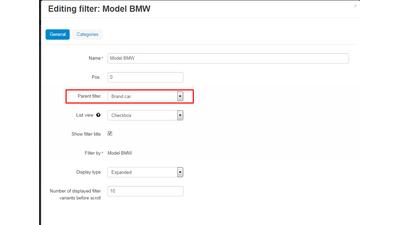 Многоуровневые фильтры - модуль для CS-Cart
