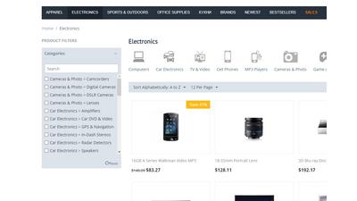 Фильтр товаров по категориям CS-Cart